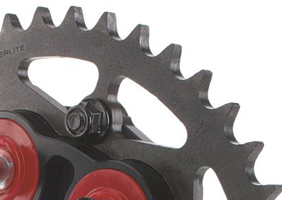 Superlite M8 x 1.25 sprocket nuts