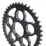 Ducati steel rear sprocket