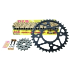 Superlite kit with D.I.D. 428VX X-ring chain